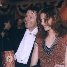 Mario Luraschi et Mylène Farmer - 07 mars 1998 - Soirée anniversaire de Mario Luraschi