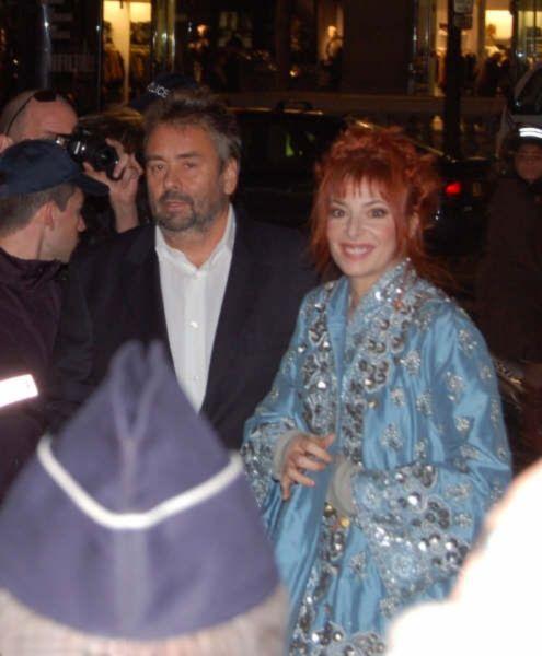 Luc Besson et Mylène Farmer - Avant-première Arthur et les Minimoys - 27 novembre 2006