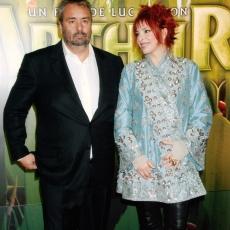 Luc Besson et Mylène Farmer - Avant-première Arthur et les Minimoys - 27 novembre 2006 - Champs-Elysées, Paris
