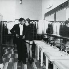 Giancarlo Esposito et Mylène Farmer - Clip California - Photographe : Marianne Rosenstiehl - Février 1996 - Los Angeles