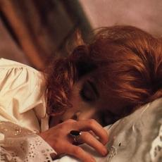 Mylène Farmer - Tournage du clip Pourvu qu'elles soient douces - Août 1988 - Photographe : Marianne Rosenstiehl