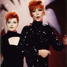 Mylène Farmer chante Pourvu qu'elles soient douces dans l'émission Cocoparadise sur TF1 le 16 novembre 1988