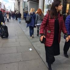 Nathalie Delépine et Mylène Farmer - Londres - 30 avril 2016