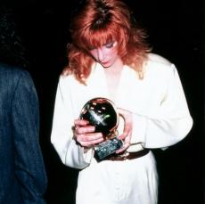 Mylène Farmer aux Victoires de la Musique le 19 novembre 1988