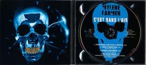 Mylène Farmer C'est dans l'air CD Maxi 1