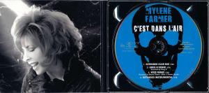 Mylène Farmer C'est dans l'air CD Maxi 2