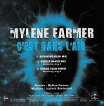 Mylène Farmer C'est dans l'air CD Promo Club Remixes 1