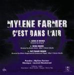 Mylène Farmer C'est dans l'air CD Promo Club Remixes 2