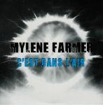 Mylène Farmer C'est dans l'air CD Promo Monotitre