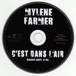 Mylène Farmer C'est dans l'air CD Promo France