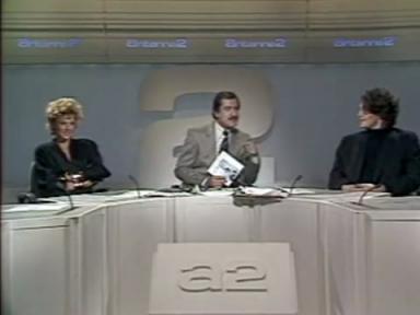 Mylène Farmer, Noël Mamère et Laurent Boutonnat - A2 Midi - 01er septembre 1986