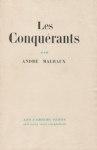 André Malraux - Les conquérants - 1928