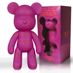 Mylène Farmer Monkey Me Art Toy Rhodamine Purple
