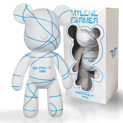 Mylène Farmer Monkey Me Art Toy Warm Ivory