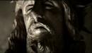 Statue du Christ dans le clip Je te rends ton amour