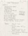 Mylène Farmer - Désenchantée - Texte manuscrit déposé à la Sacem