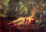 Eugène Delacroix - Ophélie