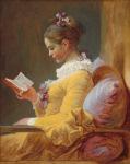 La Liseuse - Fragonard