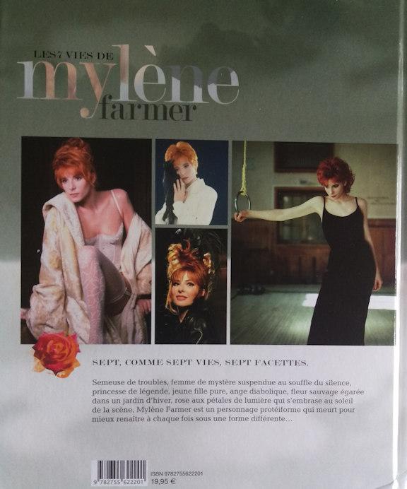 Les 7 vies de Mylène Farmer - Alain Wodrascka - Editions Hugo Image
