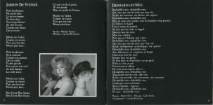 Mylène Farmer Livret Album Ainsi soit je... CD Digipak