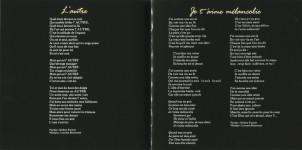 Mylène Farmer Livret Album L'autre... CD Digipak
