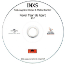 INXS featuring Ben Harper et Mylène Farmer - Never tear us apart - CD Promo