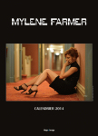 Mylène Farmer Calendrier Officiel 2014