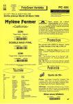 Mylène Farmer California Bon de précommande France