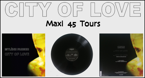 City Of Love - Maxi 45 Tours
