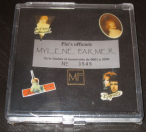 Mylène Farmer Merchandising L'autre Coffret Pin's N°1