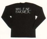 Mylène Farmer - Merchandising Dance Remixes - T-Shirt Dance Remixes Manches Longues - Verso