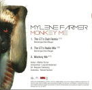 Mylène Farmer Monkey Me CD Promo Remixes