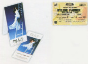 Mylène Farmer Mylenium Tour - Invitation VIP
