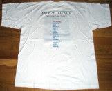 Mylène Farmer Merchandising Mylenium Tour - T-Shirt Tournée