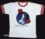 Mylène Farmer Merchandising Mylenium Tour - T-Shirt Russie Blanc