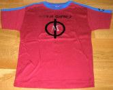 Mylène Farmer Mylenium Tour Merchandising T-Shirt Russie Rouge
