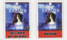 Mylène Farmer Mylenium Tour - Pass All Access Saint-Pétersbourg
