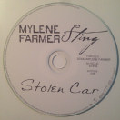 Mylène Farmer et Sting - Stolen Car - CD Promo
