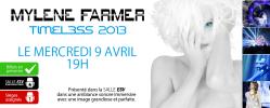 Mylène Farmer Timeless 2013 Le Film Canada