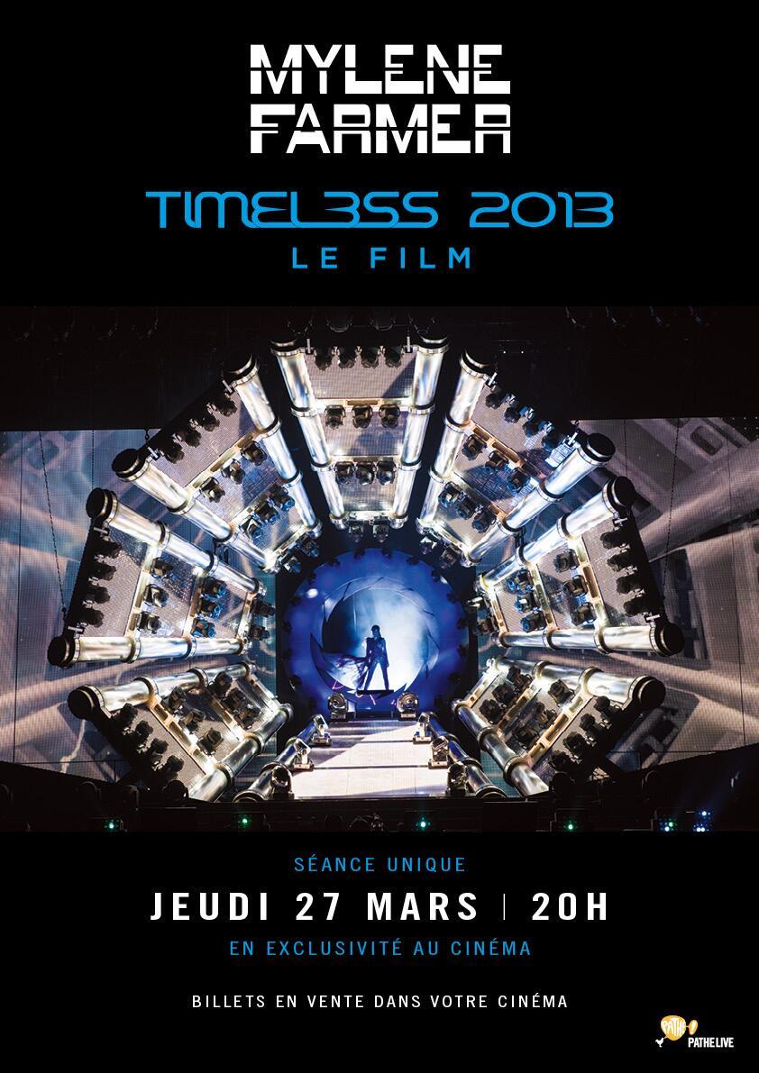 Mylène Farmer - Timeless 2013 Le Fim - Affiche