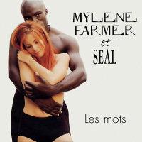 Mylène Farmer - Single Les mots en duo avec Seal