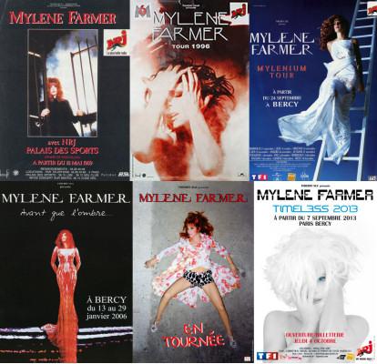 Mylène Farmer Sondage Concert préféré