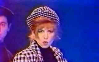 Mylène Farmer -Face à France - La Cinq - 23 novembre 1987