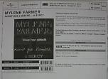 Mylène Farmer Avant que l'ombre... à Bercy Bon de précommande Collector / Vinyle