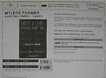 Mylène Farmer Avant que l'ombre... à Bercy Bon de précommande DVD / CD