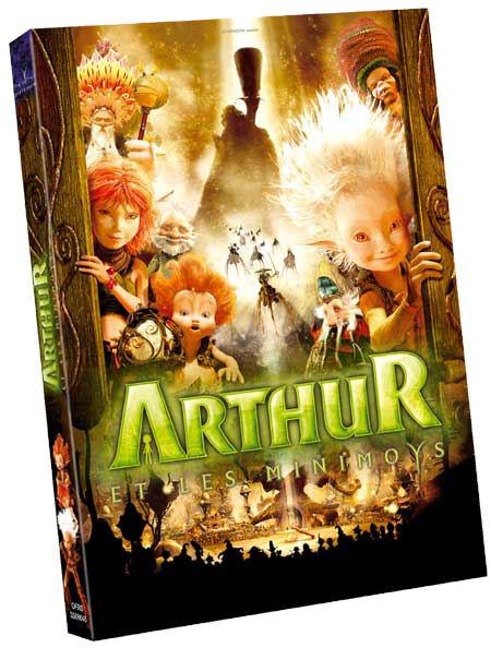 DVD Arthur et les minimoys