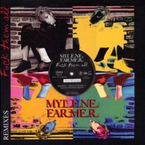Mylène Farmer Fuck them all Maxi Vinyl Promo