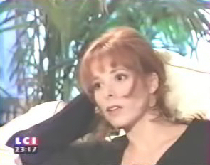 Mylène Farmer - Talk Show - LCI - 05 octobre 1994 - Capture