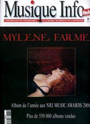 Mylène Farmer Musique Info Hebdo N°375