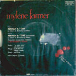 Mylène Farmer Maman a tort 45 Tours France 2nd pressage France Pochette recto